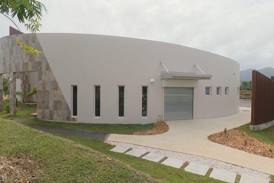 nouveau centre cinéraire Nouméa