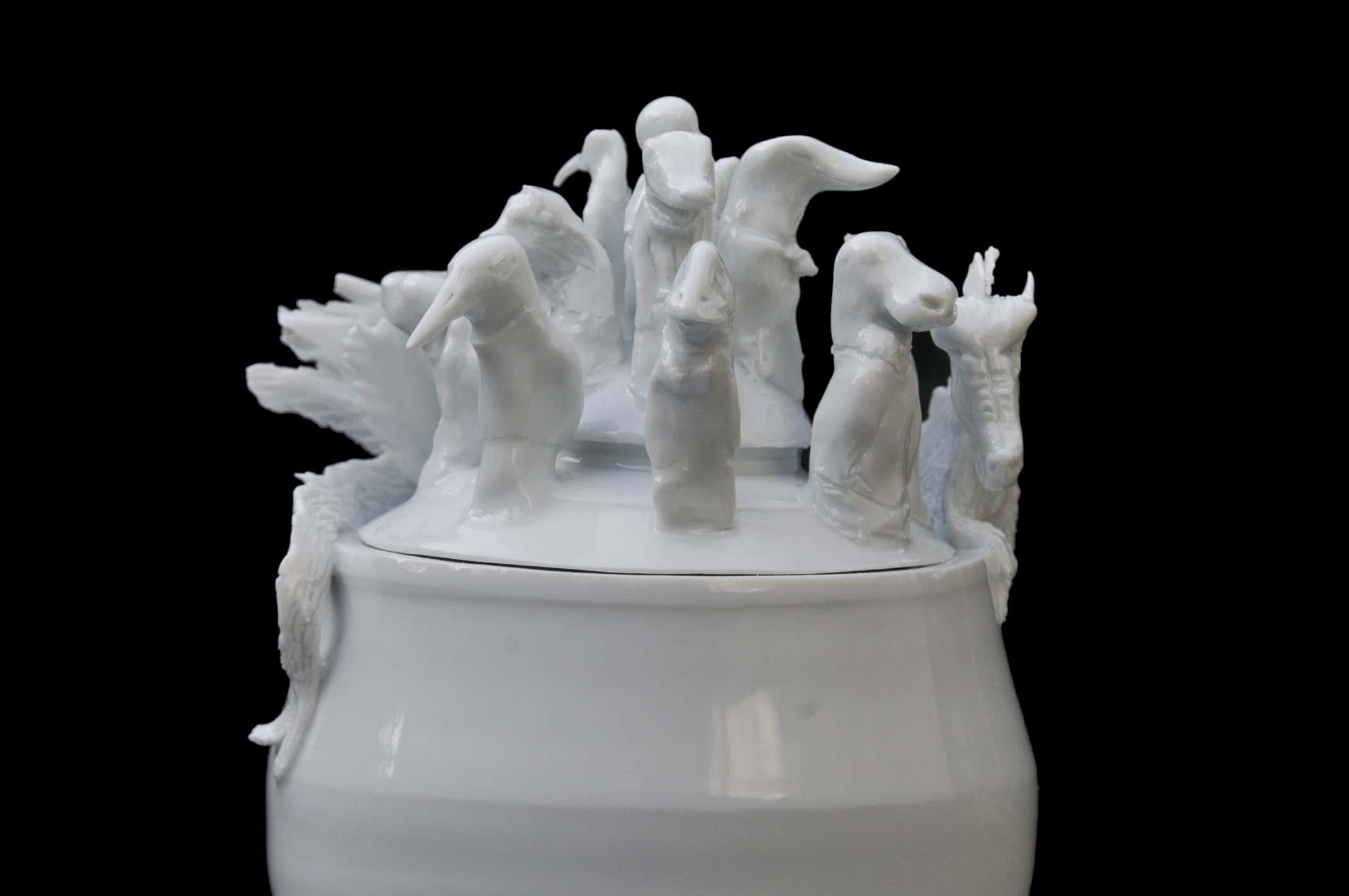 Urnes en Porcelaine